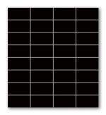 Black 295x327 / 8mm