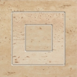 Travertine 11P 148x148 / 9mm